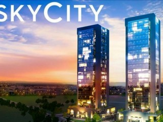 Denizli Sümer, SkyCity Commercial Offices 50% down 24 months of maturity