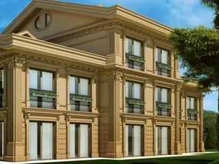 Istanbul Europe side, Uskumruköy Renaissance Palace A+ has 8 duplexes and 18 villas