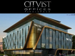 Istanbul Europe side, Beyoğlu Cityist Exclusive Offices in Piyalepaşa