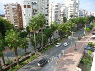 4+1 apartment in building Antalya center near old city