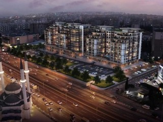 Istanbul Europe, Beylikdüzü Brand İstanbul Park apartments June 2021 delivery