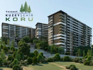 Izmir Menemen, Kuzeyşehir Koru City of 716 Apartments with 2 - 4 Bedrooms