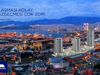Delivery 2021 December, Megapol Center of 540 offices and 360 apartments in Konak Izmir