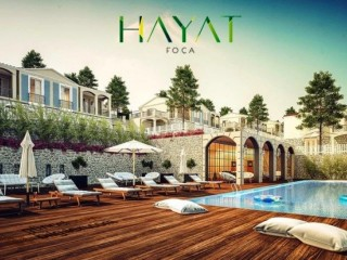 Hayat Foca of 90 Villas has started delivery 2020 January in Izmir beach