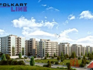 June 2020 delivery, Folkart Line of 213 houses, 2+1 and 3 + 1 apartments in Karabağlar