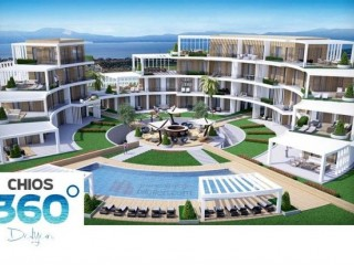 Sun, Sea, Sand hotspot and 360 degree sea view in Chios 360 Dalyan, Cesme beach