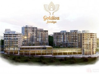 January 2020 completed. Goldiva Familya Apartments 1+1, 2+1, 3+1 in Bornova