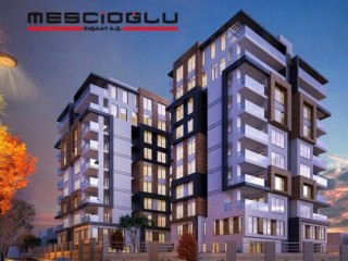 Konaktepe Beşevler Apartments project by Mescioğlu construction in Bursa