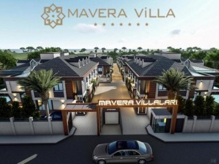 Mavera Villa brought to life in Beylikdüzü the developing region of Istanbul