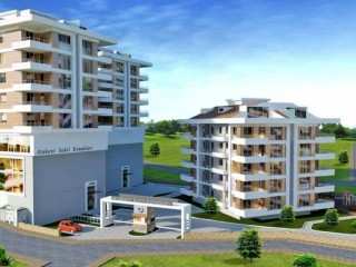 Atakent beach estates consists of 78 sea view apartments in Samsum