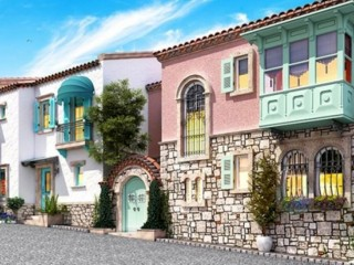 Izmir Cesme beach Femetal built by Alaçatı of 5 Turkish traditonal villas