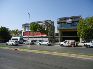 Detached new Commercial showroom for rent Lara Antalya