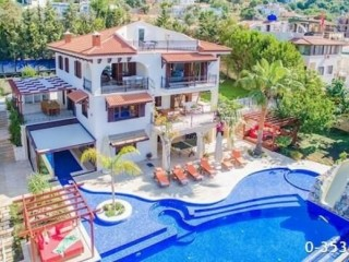 Kas sea view king villa for rent seasonal, 4 bedrooms full luxury