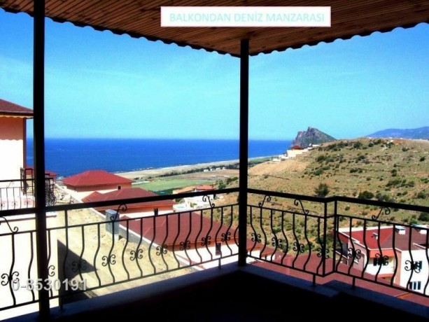 sea-view-summer-house-for-sale-3-bedrooms-in-gazipasa-beach-alanya-big-1
