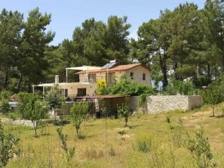 Antalya Kas Kalkan Around Four Sides Forest 11.000m2 Land and Villa
